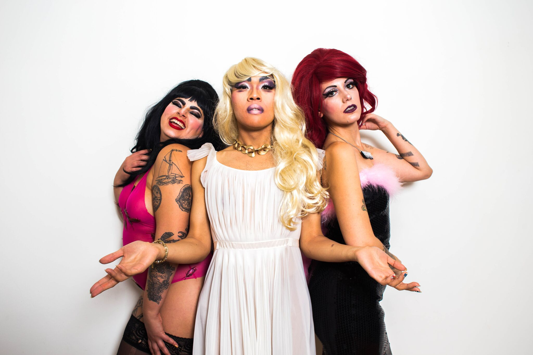 Divina, Miss Malice and Pearl